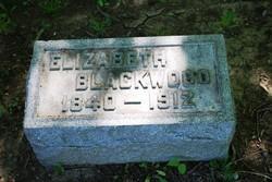 Elizabeth <I>Yerkes</I> Blackwood