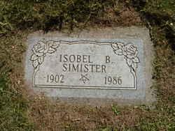 Isobel <I>Baird</I> Simister