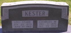 Ella Lou <I>Starr</I> Kester