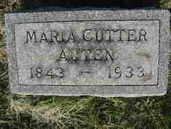 Maria Louisa <I>Cutter</I> Auten