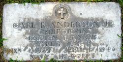 Carl Robert Anderson, Jr