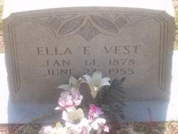 Ella E. <I>Featherstone</I> Vest