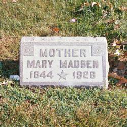 Mary <I>Sorensen</I> Madsen