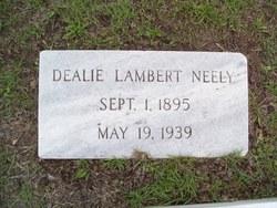 Dealie <I>Lambert</I> Neely