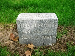 Marie Christine Wilhelmina <I>Hammerschmidt</I> Horstmann