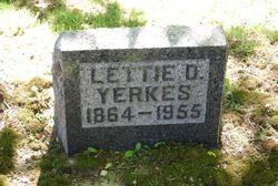 Lettie Ann <I>Dove</I> Yerkes