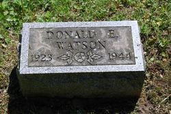 Donald E Watson