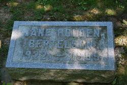 Jane <I>Holden</I> Bertelsen