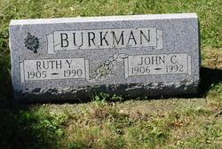 Ruth Y <I>Yerkes</I> Burkman