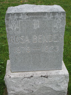 Rosa <I>Woodruff</I> Bender