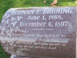 Herman F. Bruning