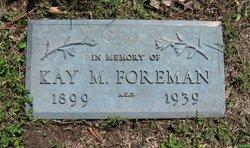 Kay Marcus Foreman