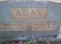 Rosetta <I>Marney</I> Aday