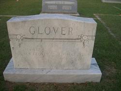 "Mrs Martha W ""Mattie"" <I>Hagood</I> Glover"