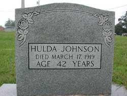 """Catherine Mahulda """"Hulda"""" <I>Russell</I> Johnson"""