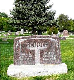 Helene Elizabeth <I>Kurth</I> Schulz