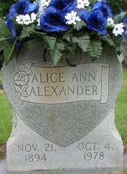Alice Ann Alexander