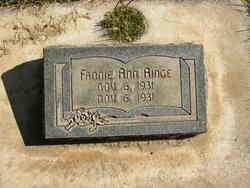 Fannie Ann Ainge