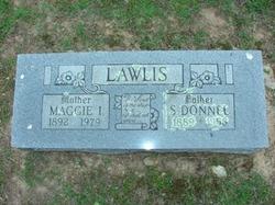 Maggie Inez <I>Butler</I> Lawlis