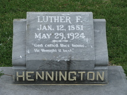 Luther Fitchue Hennington