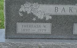 "Wilhelmina Theresa ""Tess"" <I>Thranert</I> Baker"