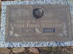 Julia <I>Fonda</I> Engerran
