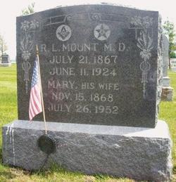 Mary Jane <I>Hudson</I> Mount