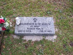 Clarence George Harding Allen