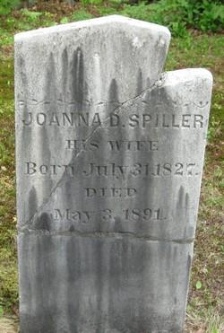 Joanna D <I>Spiller</I> Cross