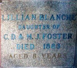 "Lillian Blanche ""Lilly"" Foster"