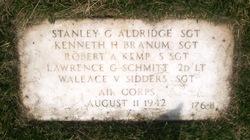 SGT Stanley G Aldridge