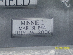 Minnie I Armfield