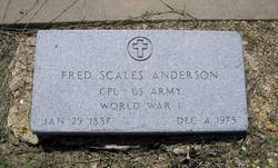 Fred Scales Anderson