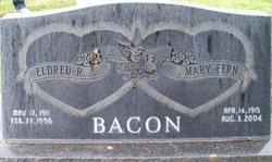 Mary Fern <I>Bourne</I> Bacon
