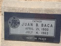 Juan B Baca