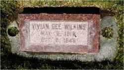 Vivian <I>Gee</I> Wilkins