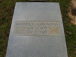 Maurice Calhoun Harrington, Sr