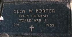 Glen W. Porter
