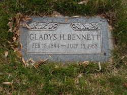 Gladys <I>Harris</I> Bennett