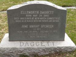 June Knight <I>Spencer</I> Daggett