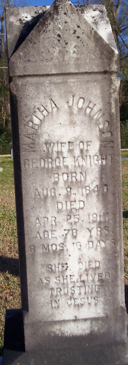 Martha Anne <I>Johnson</I> Knight