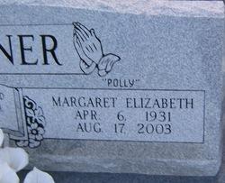"Margaret ""Polly"" <I>Hearne</I> Beckner"
