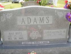 Mae <I>Ross</I> Adams