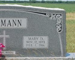 Mary <I>Denkeler</I> Erdmann