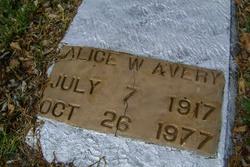 Alice Lee <I>Winters</I> Avery