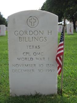 Gordon H Billings
