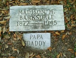 "Madison Marcellus ""Papa Daddy"" Barksdale"