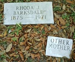 Rhoda Jane <I>Smith</I> Barksdale