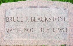 Bruce F. Blackstone