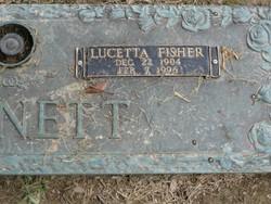 Lucetta <I>Fisher</I> Barnett